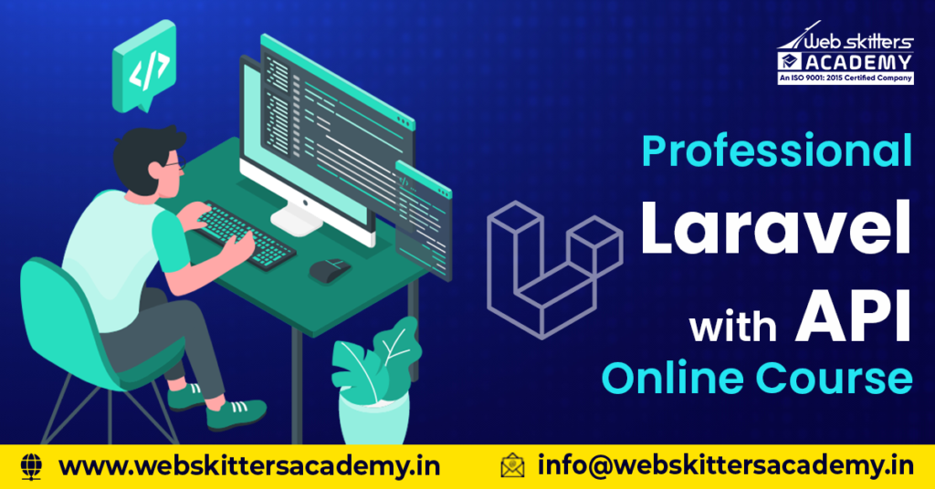 Professional Laravel with API Online Course
